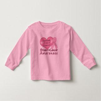 Breast Cancer Survivor Toddler Long Sleeve Toddler T-shirt