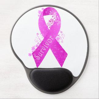 Breast Cancer Survivor Vintage Gel Mouse Pad