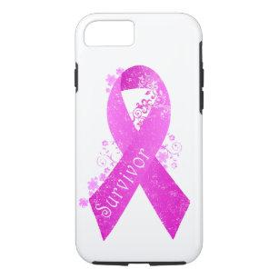 Breast Cancer Survivor Vintage iPhone 8/7 Case