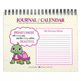 Breast Cancer SurvivorRecoveryQuotes/Notes Journal Calendar