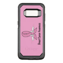 Breast Cancer Swans of Hope OtterBox Commuter Samsung Galaxy S8 Case