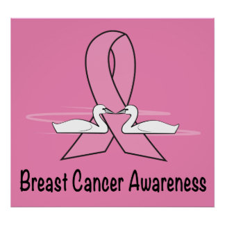 Breast Cancer Swans of Hope Poster