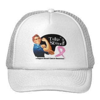 Breast Cancer Take a Stand Hat
