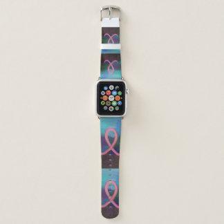 Breast-Cancer Tech | Warrior Pink Survivor Ribbon Apple Watch Band