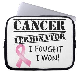 Breast Cancer Terminator Computer Sleeve