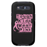Breast Cancer Tough Kids Wear Pink Samsung Galaxy SIII Cover
