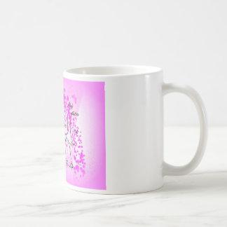 breast cancer tree for life coffee mug
