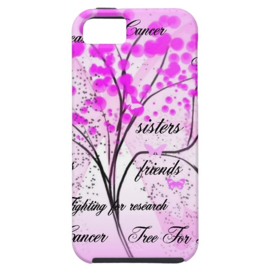 breast cancer tree for life iPhone SE/5/5s case
