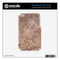 Breast cancer under the microscope decals for iPod touch 4G