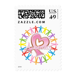 Breast Cancer Unite in Awareness Postage Stamps