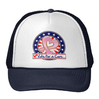 Breast Cancer Vote For a Cure Trucker Hat