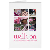 Breast Cancer Walk Cards