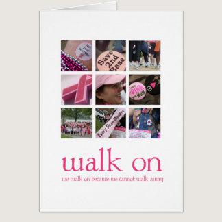 Breast Cancer Walk Cards