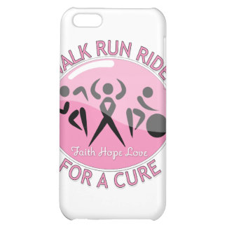 Breast Cancer Walk Run Ride For A Cure iPhone 5C Cases