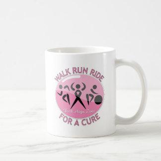Breast Cancer Walk Run Ride For A Cure Mug