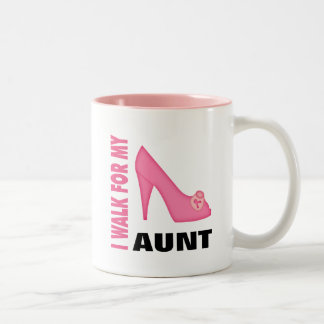 Breast Cancer Walk Two-Tone Coffee Mug