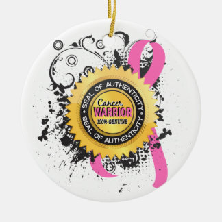 Breast Cancer Warrior 23 Ornament