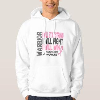 Breast Cancer Warrior Hoodie