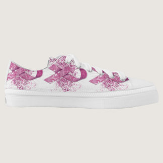 Breast Cancer Warriors Low-Top Sneakers
