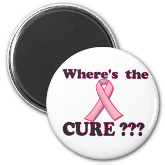 Breast Cancer:  Where's the CURE? Magnet
