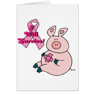 breast cancer will survive pig card