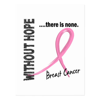 Breast Cancer Without Hope 1 Postcard