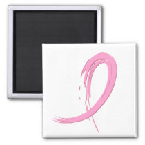 Breast Cancer's Pink Ribbon A4 Magnet