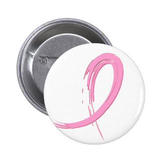 Breast Cancer's Pink Ribbon A4 Pinback Button
