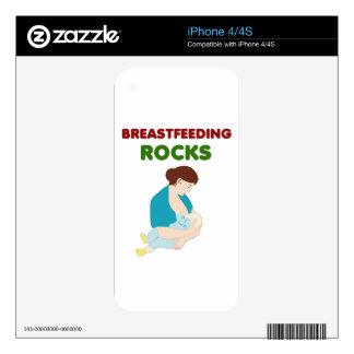 breast feeding mom rocks skin for iPhone 4S