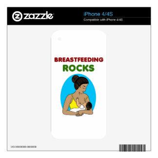 breast feeding Mother rocks iPhone 4 Skins