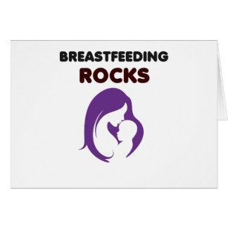 breast feeding rocks card