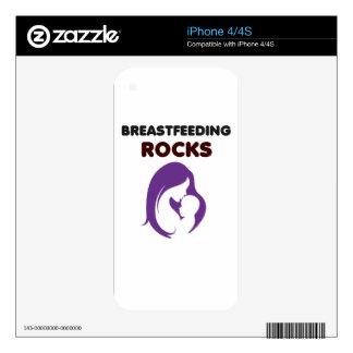breast feeding rocks skins for iPhone 4