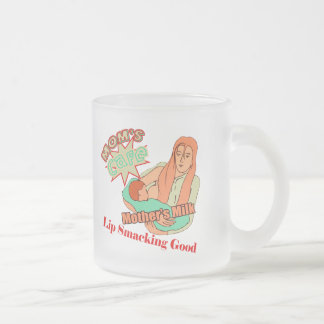 Breast Feeding T-shirts and Gifts For Her Frosted Glass Coffee Mug