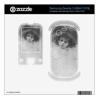 Breast image of a child by Gustav Klimt Samsung Gravity 3 Skins