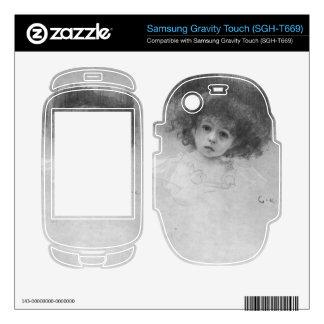 Breast image of a child by Gustav Klimt Samsung Gravity Touch Skins