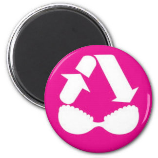 Breast Oasis 2 Inch Round Magnet