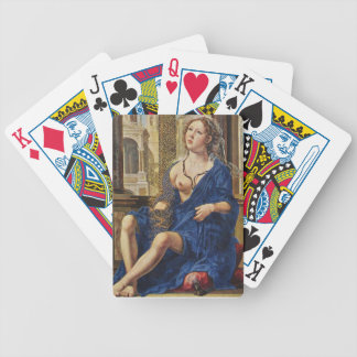 BREAST OF MARY BICYCLE PLAYING CARDS