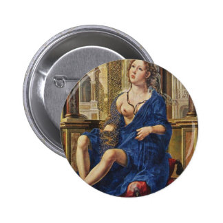 BREAST OF MARY PINBACK BUTTON