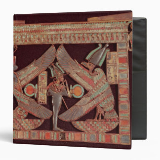 Breast plate depicting Osiris, god of Binder