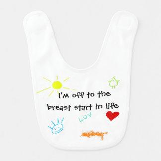 Breast Start Baby Bib