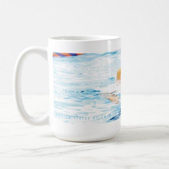 Breast Stroke Swimmer Chadsey Coffee Mug