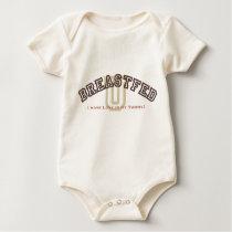 Breastfed University Baby Bodysuit