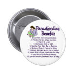 Breastfeeding Benefits Buttons