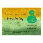 Breastfeeding Encouragement Business Cards