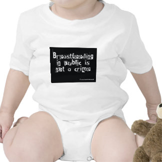 Breastfeeding in public is not a crime tees