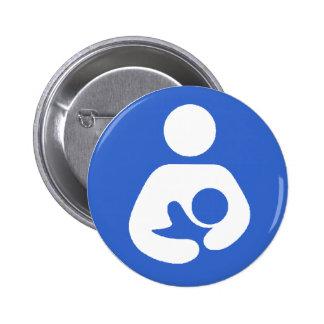 Breastfeeding International Symbol 2 Inch Round Button