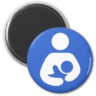 Breastfeeding International Symbol 2 Inch Round Magnet
