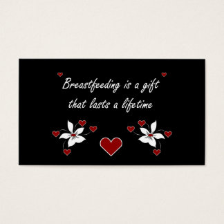 Breastfeeding is a Gift-2 Business Card