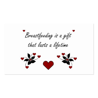 Breastfeeding is a Gift Business Card