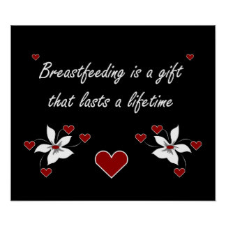 Breastfeeding is a Gift Poster